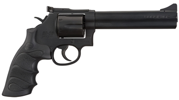 "Picture of Sarsilmaz 357Mag Revolver,Forged Steel,6"" Brl,Drop Safety,Hammer Block,Changeable Front Sight, Adjustable Rear Sight"
