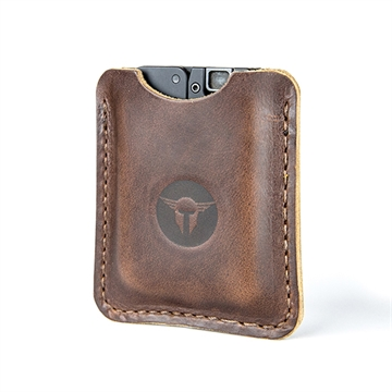 Picture of Trailblazer Lifecard Leather Sleeve Dark Brown