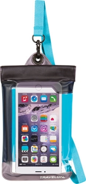 Picture of Travelon Waterproof Smart Phone/Camera Pouch Blue