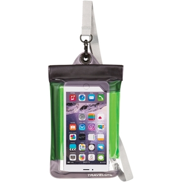 Picture of Travelon Waterproof Smart Phone/Camera Pouch Green