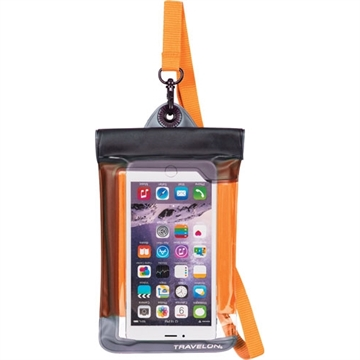 Picture of Travelon Waterproof Smart Phone/Camera Pouch Orange