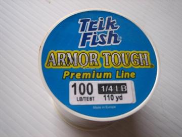 Picture of Trik Fish Armor Tough Mono Line-1/4 LB 100Lb 110Yd Camo