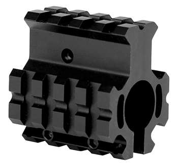 Picture of Trinity Force Corp Mn012h Quad Rail Gas Block Steel/Aluminum