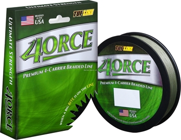 Picture of Tuf-Line 4Orce Braided Line 4-Carrier 15Lb 125Yd Green