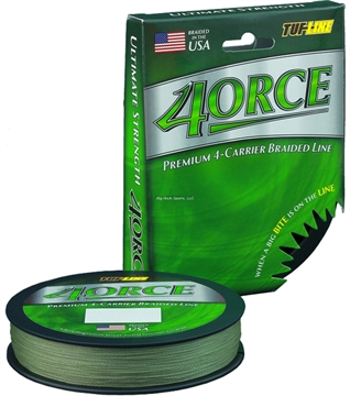 Picture of Tuf-Line 4Orce Braided Line 4-Carrier 20Lb 125Yd Green