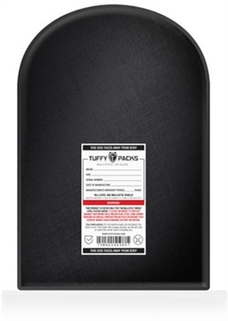 """Picture of Tuffy Packs Ballistic Shield Backpack Insert 11""""X14"""" 19 Ozs"""