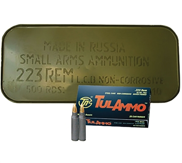 Picture of Tul 223 55Gr Fmj Tin OF 500