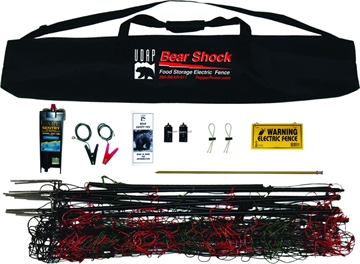 Picture of Udap Industries Inc Bear Shock - Bear Resistant Electric Food Storage Fence, Requires 4 D-Cells