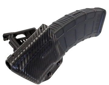 Picture of UM Tactical Akmag AK Mag Holder With Attachments Black Carbon Fiber