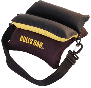 "Picture of Uncle Buds 16012 10"" Black/Gold Bulls Bag Rest"