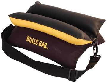"Picture of Uncle Buds 16022 15"" Black/Gold Bulls Bag Rest"