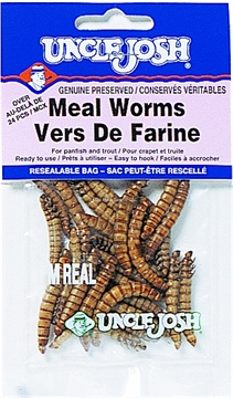 Picture of Uncle Josh Meal Worm, 24Pk, Resealable Bag