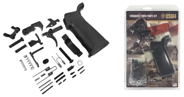 Picture of Usm4 15001346 Ar15 Lower Parts Kit Enhanced Ambidextrous Ar-15