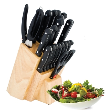 Picture of Utica 21 Piece Cutlery Block Set
