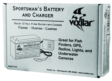 Picture of Vexilar Battery Jel-Pk W/Recharger 9Amp