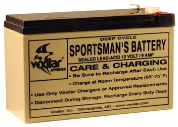 Picture of Vexilar Battery Only 9 Amp