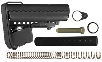 Picture of Vltor Aebka5b A5 Stock Combo Kit Ar-15 Polymer Black