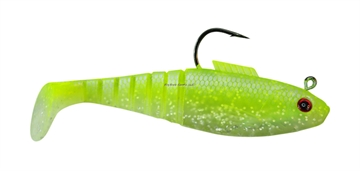 """Picture of Vudu 3""""  Shad 3/Pk Lime Chartreuse"""
