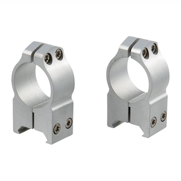 Picture of Warne 1'' High Fixed Rings Silver