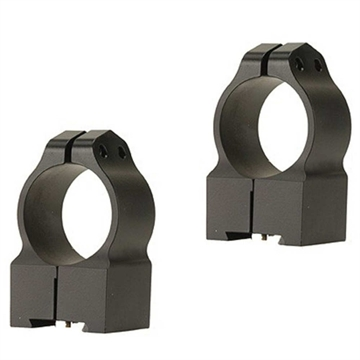 Picture of Warne 1 Inch Tikka Permanently Attached - High Matte Rings