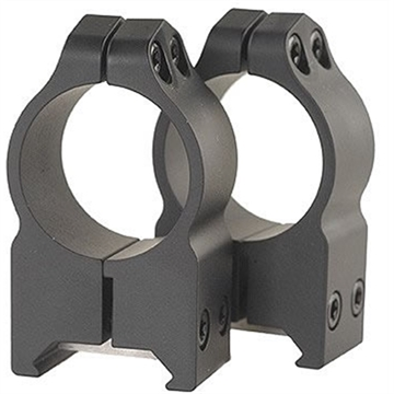 Picture of Warne 1 Inch Permanent Attach Rings High Matte 202M
