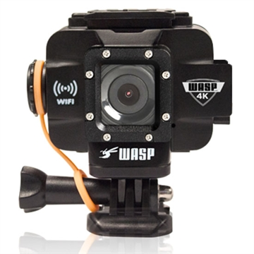 "Picture of Wasp 4K Action Camera,Waterproof TO 98', HD Video UP TO 4K, 20Mp Photo, 1.5"" Lcd Screen, Built-In Wifi, Gps, Wrist Remote"