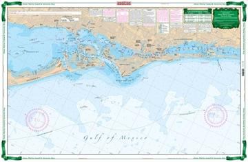 Picture of Waterproof Charts Anna Maria Sound & Sarasota Bays Large Print