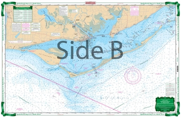 Picture of Waterproof Charts Apalachicola Bay TO St. Marks River Large Print