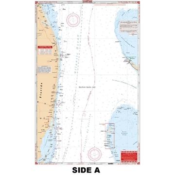 Picture of Waterproof Charts Bahamas Crossing - Bimini & West End Standard Navigation
