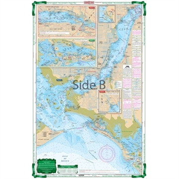 Picture of Waterproof Charts Barrier Islands - Boca Grande TO Estero Bay Large Print