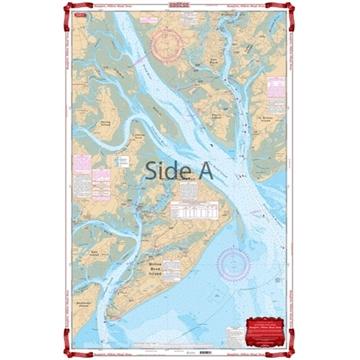 Picture of Waterproof Charts Beaufort & Hilton Head Area Standard Navigation