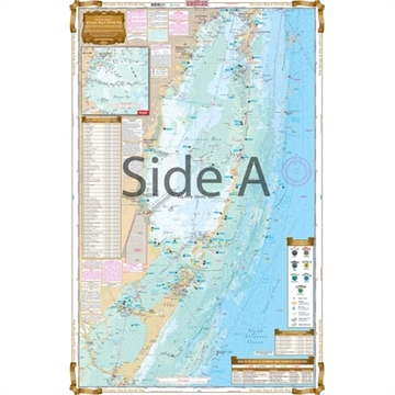 Picture of Waterproof Charts Biscayne Bay TO Florida Bay Fishing Inshore