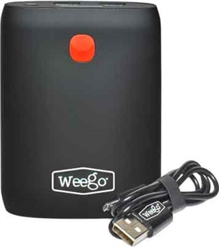 Picture of Weego Battery Pack 10400Mah W/2 Usb Ports Charges Phone 6X