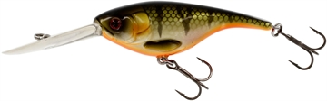 """Picture of Westin Babybite DR Deep Running Crankbait, Floating Bling Perch 2 1/2"""" 7/16 OZ"""