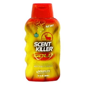 Picture of Wildlife Research Body Wash & Shampoo Scent Killer Gold 12Fl OZ Squeeze