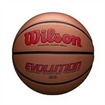 Picture of Wilson Evolution Intermediate Size Game Basketball-Scarlet