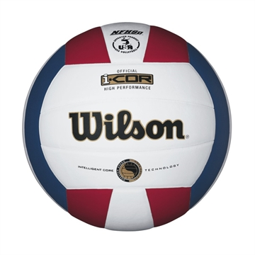 Picture of Wilson I-Cor High Performance Volleyball Red/White/Blue