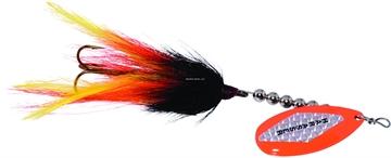 """Picture of Windels Muskie Harasser Bucktail Spinner, 7"""", Black/Orange"""