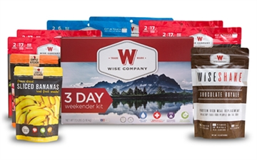 Picture of Wise 3 Day Weekender Kit