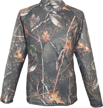 """Picture of World Famous Sports LS """"Wicking"""" T Shirt-Blk/Camo"""