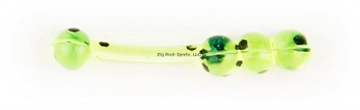 "Picture of X Zone Lures 1"" Baller, 307, Chartreuse Pepper"