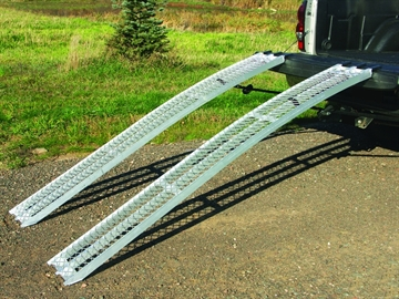 "Picture of Yu-Trax Alum XL Arch Ramps 89"" 750Lb Each Weight Capacity"