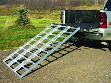 "Picture of Yutrax Alum XL Tri-Fold Ramp 78"" 1750Lb Weight Capacity"