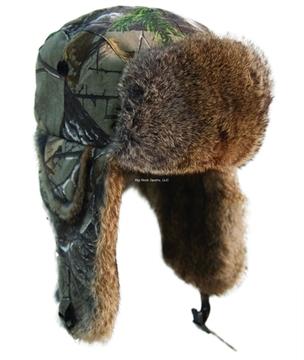 Picture of Yukon Alaskan Hat Realtree Xtra Camo W/Brown Fur S/M