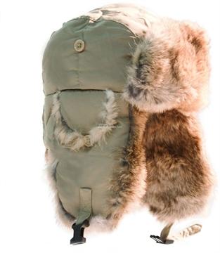 Picture of Yukon Alaskan Hat Tan W/Brown Fur XL