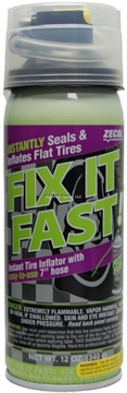 Picture of Zecol Fix-It-Fast Tire Inflatorw/Hose 12Oz