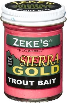 Picture of Zeke's Sierra Gold Floating Trout Bait, Jar, Pnk