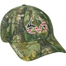 1753e7c63ea OUTDOOR CAP Americama Team Realtree Logo Cap In RT Xtra Pattern Low Profile