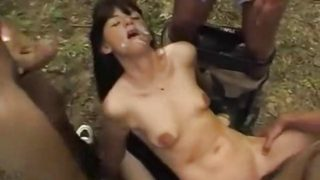 Dogging GangBang Outdoors