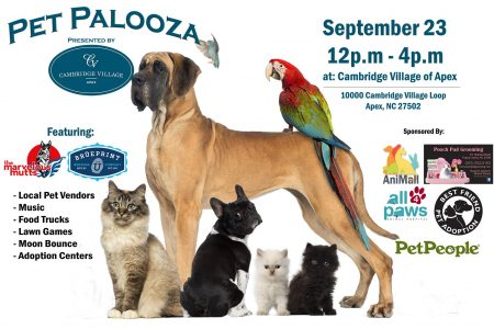 1st Annual Pet Palooza - North Raleigh
